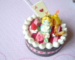 Alice in Wonderland cake by AmbiguousAngel