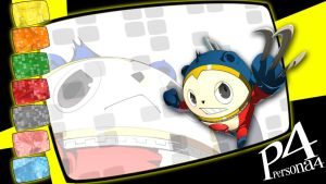 Crazy Eights: Persona 4 - Teddie by MrJechgo