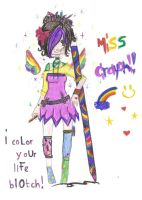 MIss Crayon by 1fireang3l