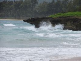North Shore Waves by Legrandzilla