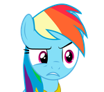 Dash is creeped out by goldenfeathers