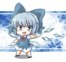 Chibi Cirno by CatPlus