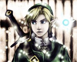 Coloreado ~ Link Wii U by Airiys