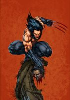 Wolverine Keu cha by SpicerColor