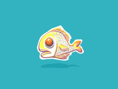 fishie by dippindotz