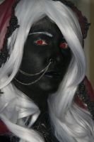 Drow Priestess Face by Daniphae