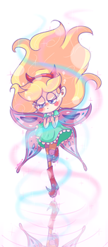 the ballad of Star Butterfly by chibiirose