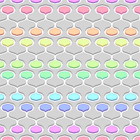 Palette Droplet Pattern by Humble-Novice