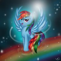 Rainbow Dash by The-Revered-Dragon