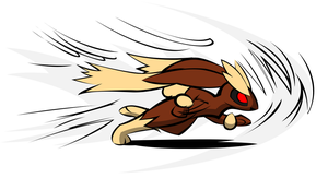Turbo Lopunny by hlavco