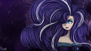 Nightmare Rarity by CosmicPonye