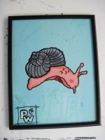 pee-wee snailman by mikedestructive