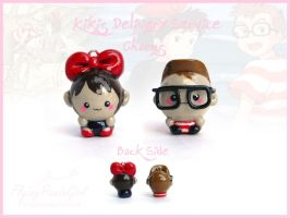 Kiki's Delivery Service Charms by FlyingPandaGirl