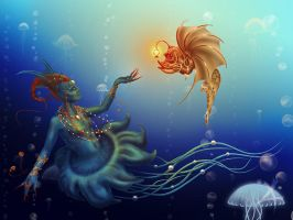 underwater world by qi-art