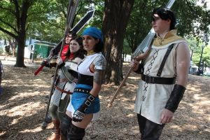 Waiting for Battle by Master-of-Unlocking