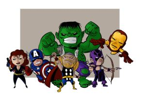 Avengers by IttoOgamy