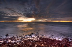 Davey's Bay Sunset No.3 by fazz1977