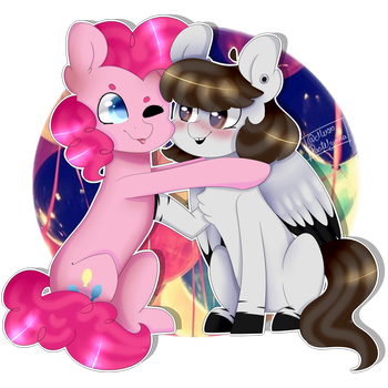 don't be shy! come here , give me a hug! by MissPastelzinha