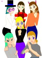 Me and My Friends by QueenLioness7