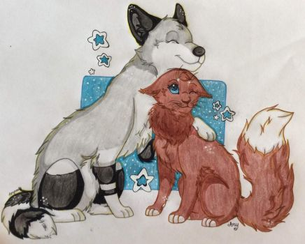 Best Buddies (Contest Entry) by any2004