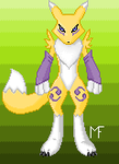 Renamon by piercingemeralds2