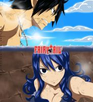 Fairy Tail Manga 321 Color by CursedIceDragon