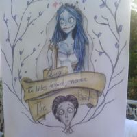 Corpse bride by Blancanieves84