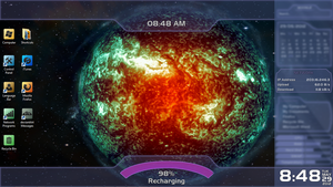 Addon for Dark Star's Mass Effect 3 Rainmeter Skin by HiveLordLusa