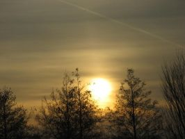 25-02-08 Sunset by Herdervriend