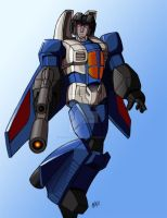 TF Thundercracker by a friend by BlueFeatherArchangel