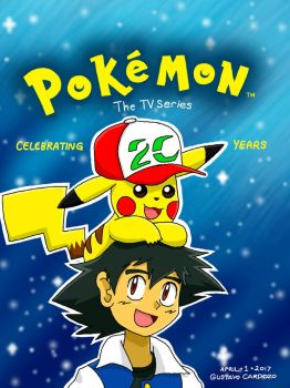 Pokemon: 20 years of the Anime by GustavoCardozo97