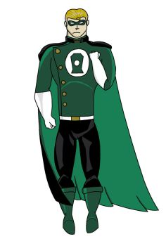 Green Lantern Redesign by The-Waith
