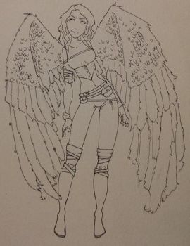 angel girl.. by Ccalamity4