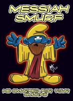 messiah smurf by TheWarrigul