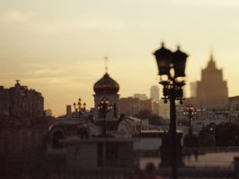city sunset by Snowfall-lullaby