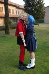 Cou and Ren Cosplay - Kiss by Sbabby