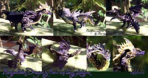 Mangosteen dragon by BraveBabysitter