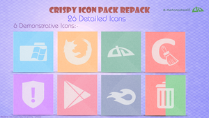 Crispy Icon Pack Repack V1.0 by thechampishere03