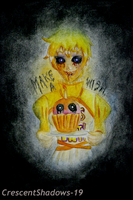 Make a Wish_Humanized Chica by crescentshadows19
