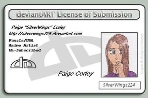 Deviant ID card by SilverWings224