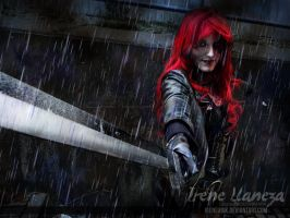 Typhoid Mary - Marvel - Blood rain by IreneUbik