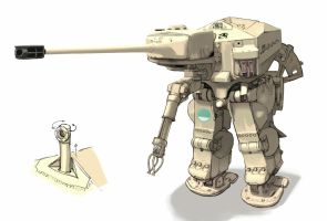 Sherman Exo suit modified versions by QU-RO-QURO
