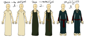 Medieval Outfits by xDoglate