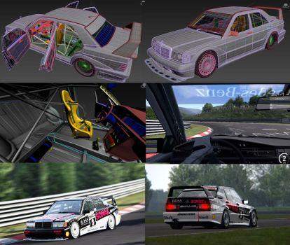 Mercedes-Benz 190E DTM by STH-pl