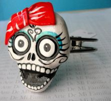 sugaR SKULL BEADS by ArteDeMiFamilia