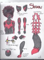 Ref sheet again by TheShadowfang