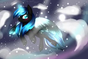 Comission: Snowdrift by VardasTouch