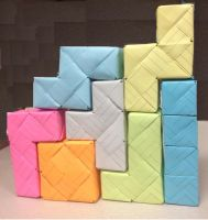 tetris origami stage 2 by bluekerbe