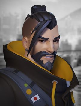 Hanzo by laloon