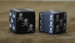Dice Front stock by PirateLotus-Stock